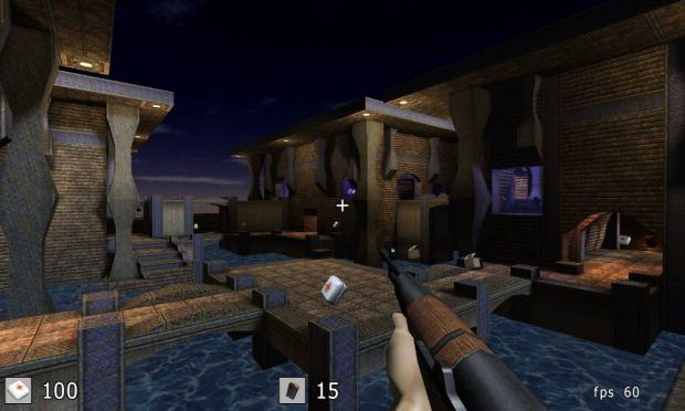 screenshot of sauerbraten