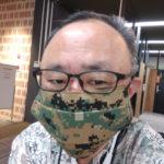 米国海兵隊の迷彩柄のマスクその5
