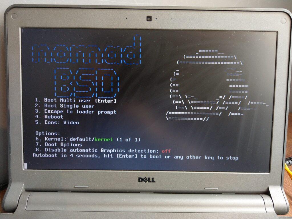 05 NomadBSD Boot Splash
